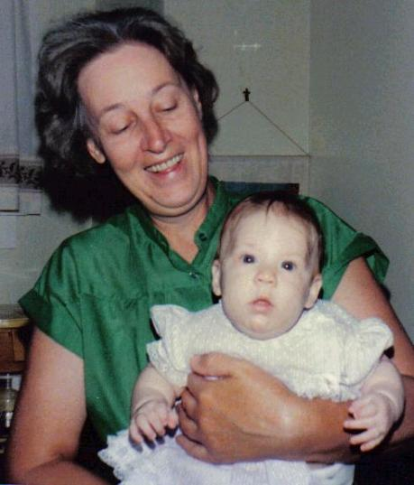 Aunt Marilyn, Jesica - 1986