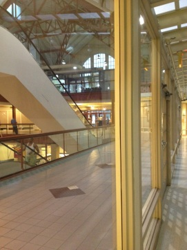 view from inside UPMC SSON