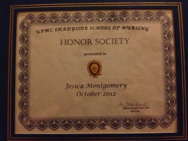 my hard work paid off